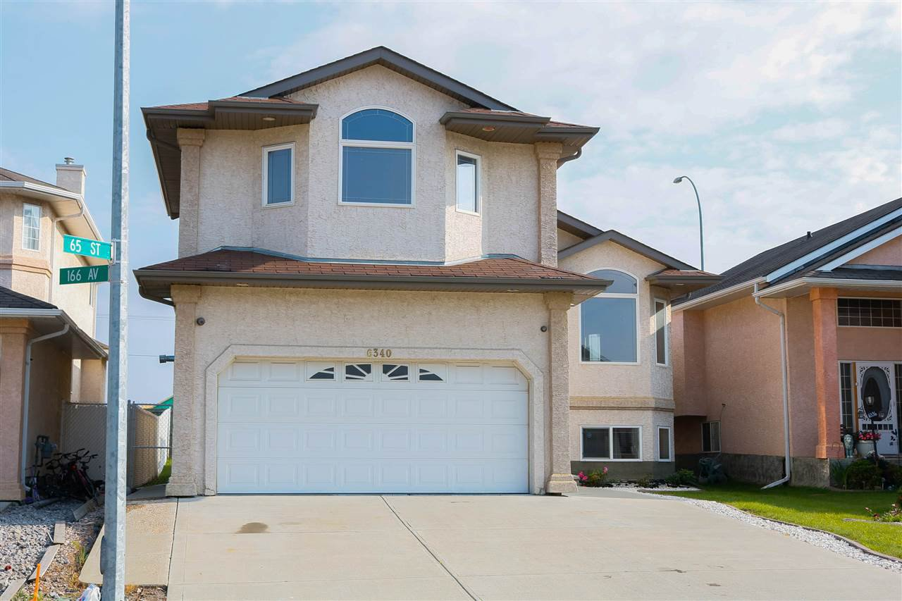 Main Photo: 6340 166 Avenue in Edmonton: Zone 03 House for sale : MLS®# E4165851