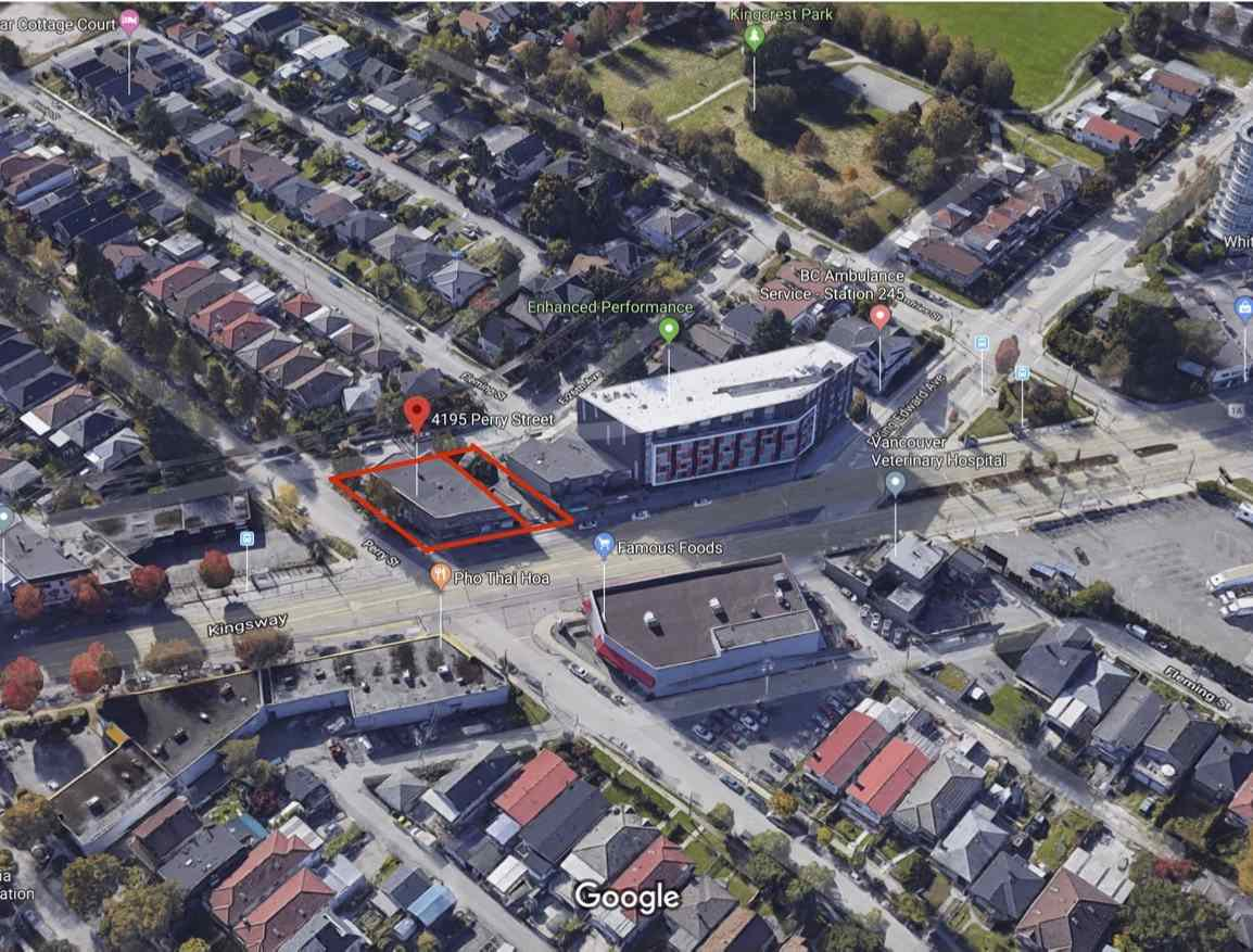 Main Photo: 4195 PERRY Street in Vancouver: Knight Land Commercial for sale (Vancouver East)  : MLS®# C8029478