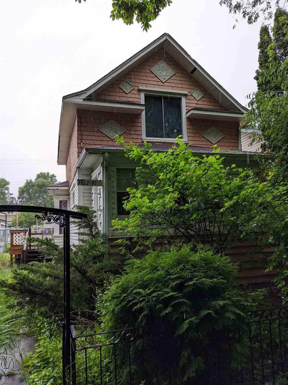Main Photo: 11922 91 Street in Edmonton: Zone 05 House for sale : MLS®# E4206367