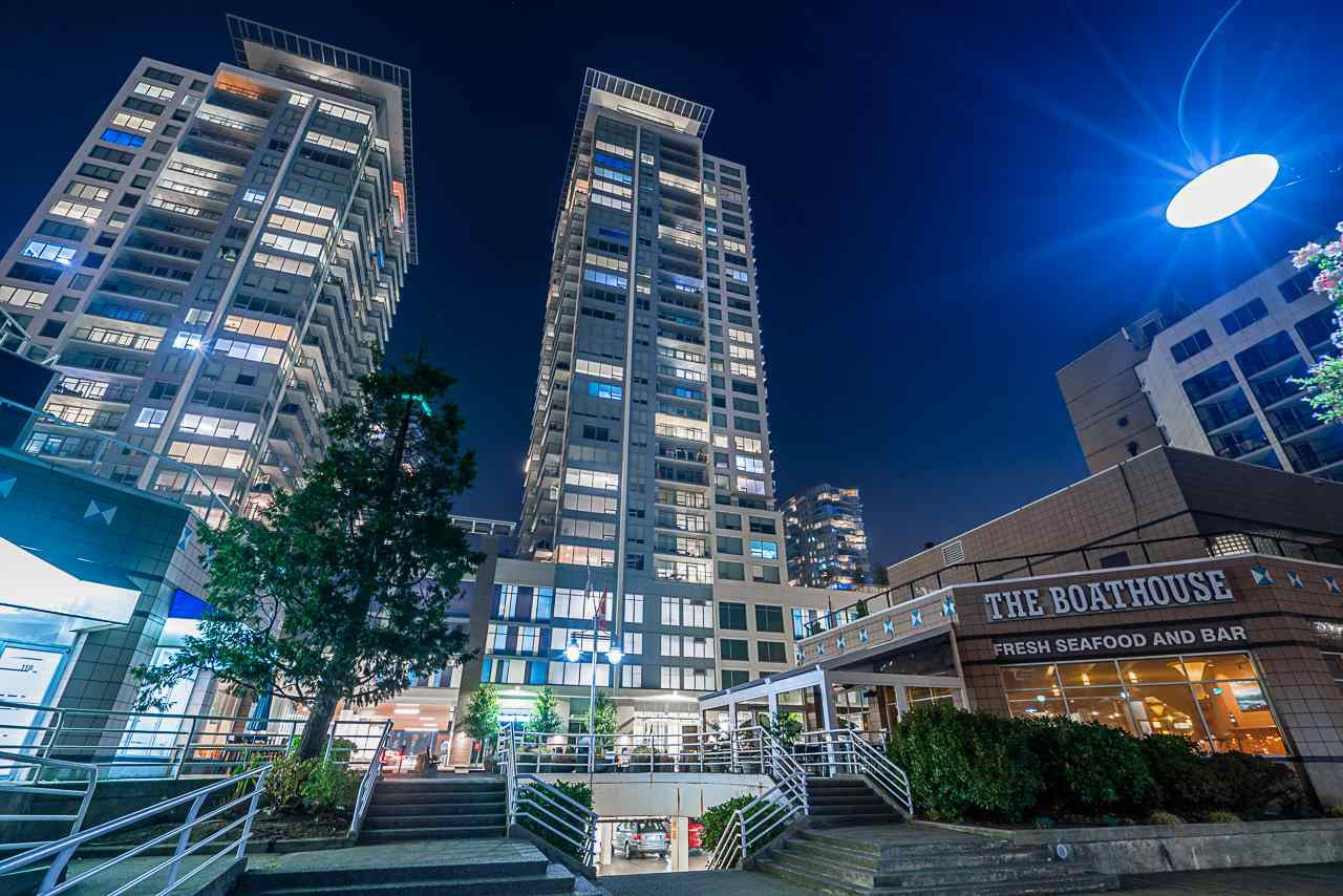 Main Photo: 3102 908 QUAYSIDE Drive in New Westminster: Quay Condo for sale : MLS®# R2497922