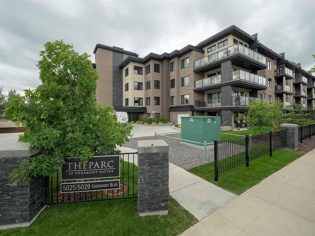Main Photo: 402 5029 EDGEMONT Boulevard in Edmonton: Zone 57 Condo for sale : MLS®# E4167961