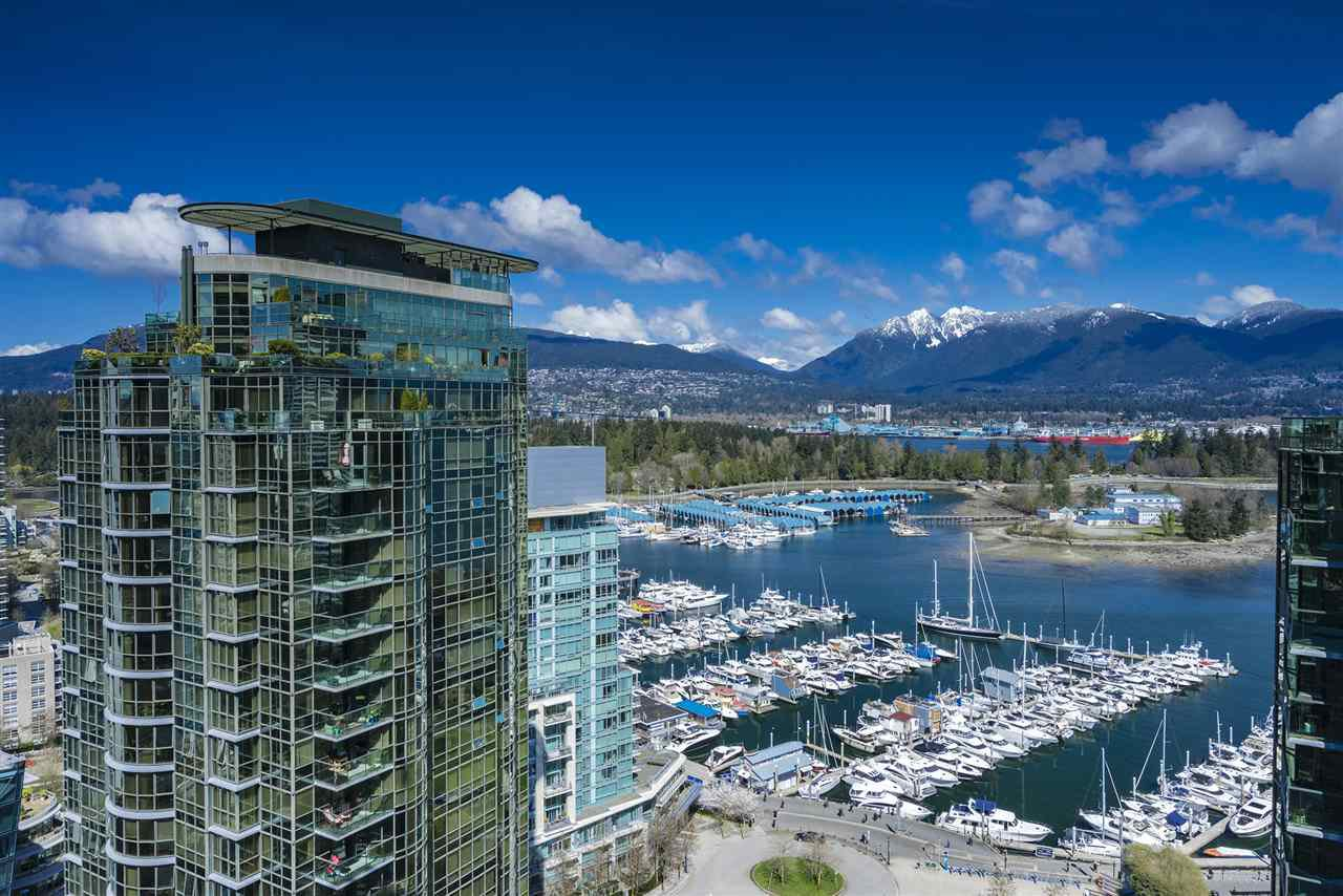 Main Photo: 2806 1328 W PENDER STREET in Vancouver: Coal Harbour Condo for sale (Vancouver West)  : MLS®# R2156553