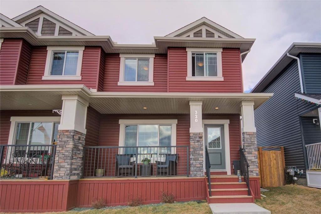Main Photo: 320 WILLOW Street: Cochrane Semi Detached for sale : MLS®# C4261011