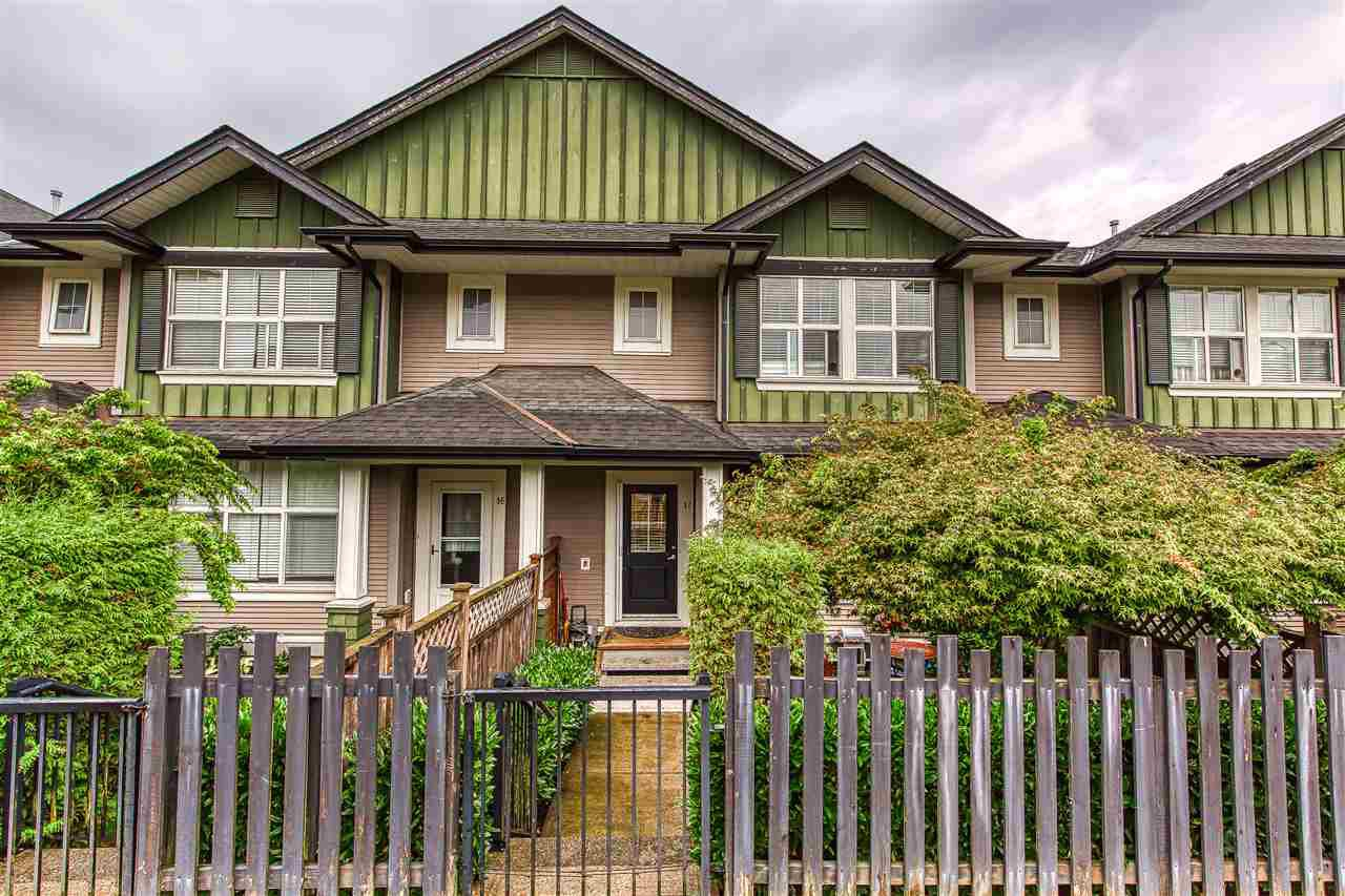 "Main Photo: 17 18199 70TH Avenue in Surrey: Cloverdale BC Townhouse for sale in ""AUGUSTA"" (Cloverdale)  : MLS®# R2400278"