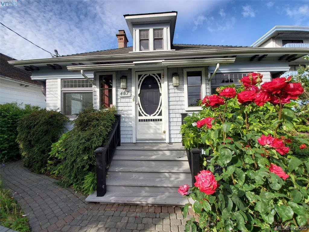 Main Photo: 487 Superior Street in VICTORIA: Vi James Bay Single Family Detached for sale (Victoria)  : MLS®# 420585