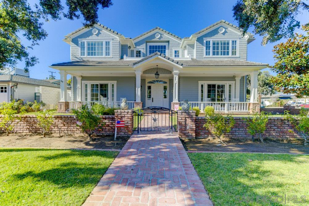 Main Photo: CORONADO VILLAGE House for sale : 5 bedrooms : 800 Country Club Ln in Coronado