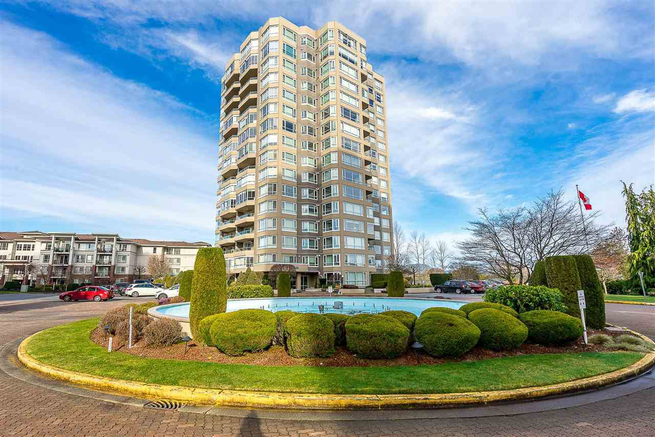 """Main Photo: 101 3190 GLADWIN Road in Abbotsford: Central Abbotsford Condo for sale in """"Regency Park Towers"""" : MLS®# R2442137"""