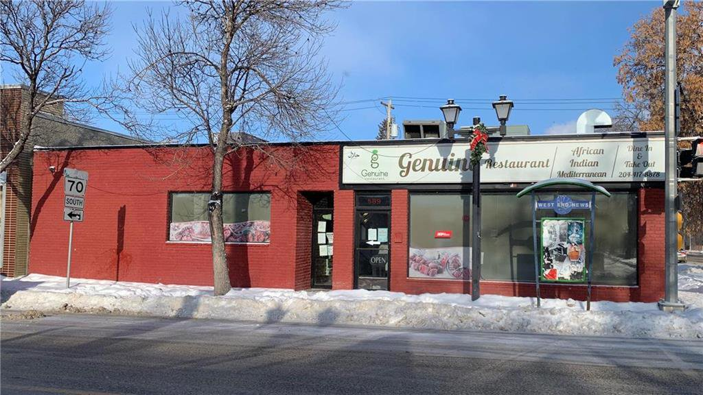 Main Photo: 589 Sargent Avenue in Winnipeg: Industrial / Commercial / Investment for sale (5A)  : MLS®# 202029934
