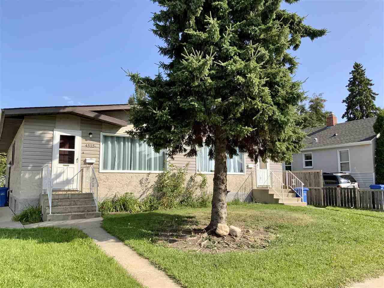 Main Photo: 4515 53 Street: Wetaskiwin House Duplex for sale : MLS®# E4213301