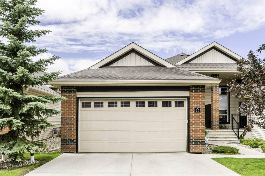 Main Photo: 26 841 156 Street in Edmonton: Zone 14 House Half Duplex for sale : MLS®# E4207892