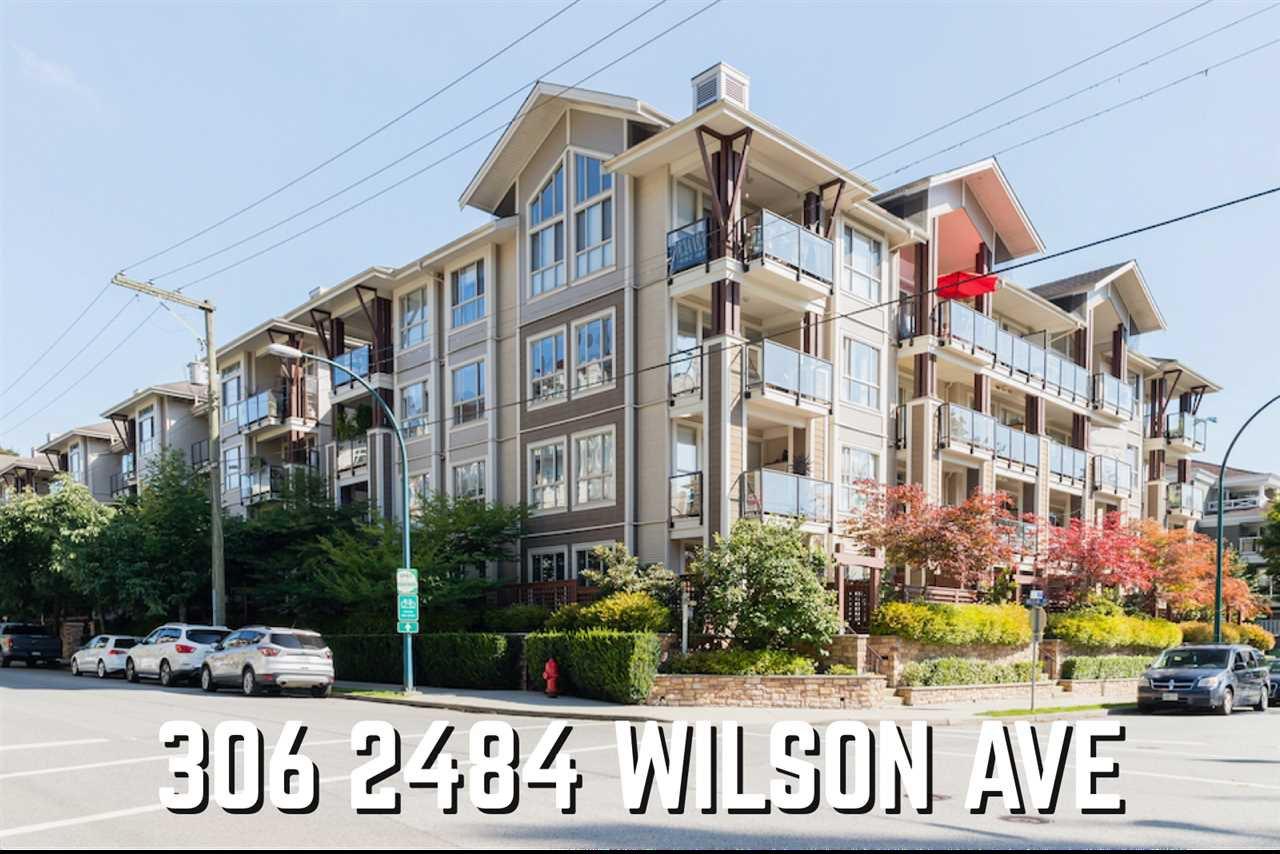Main Photo: 306 2484 WILSON AVENUE in Port Coquitlam: Central Pt Coquitlam Condo for sale : MLS®# R2494030