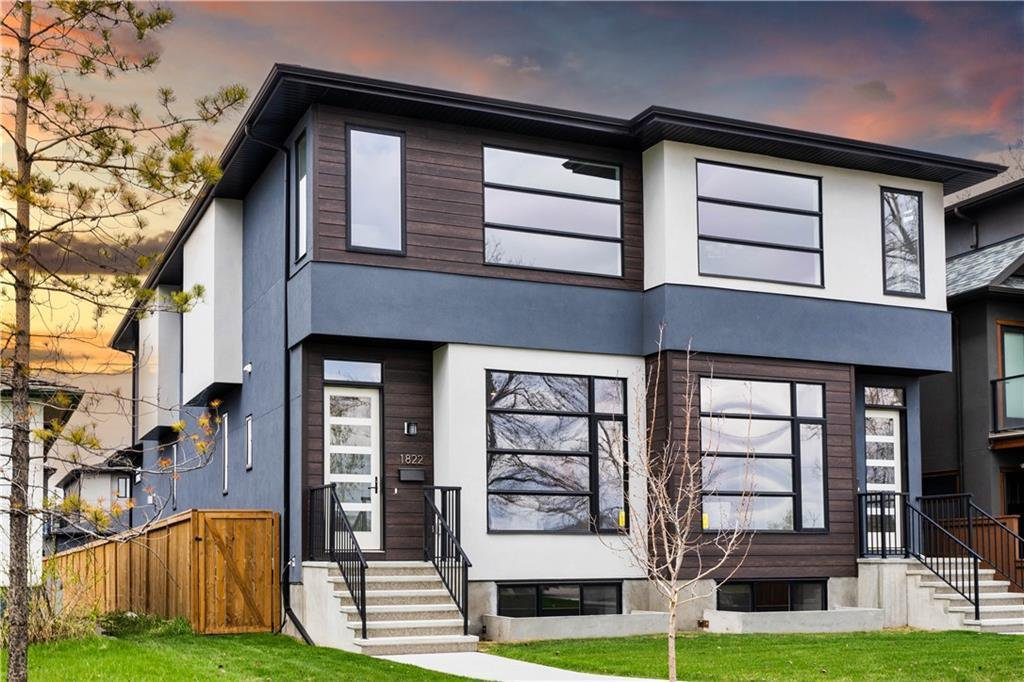 Main Photo: 1822 WESTMOUNT Boulevard NW in Calgary: Hillhurst Semi Detached for sale : MLS®# A1038079