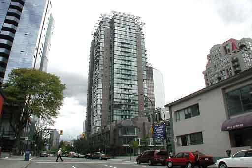 Main Photo: 808 1068 HORNBY STREET in : Downtown VW Condo for sale : MLS®# V538204