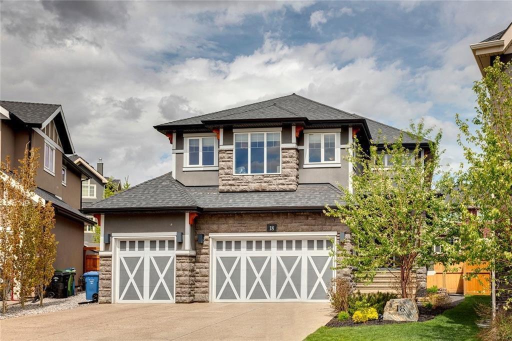 Main Photo: 18 ASPEN DALE Court SW in Calgary: Aspen Woods Detached for sale : MLS®# C4280812