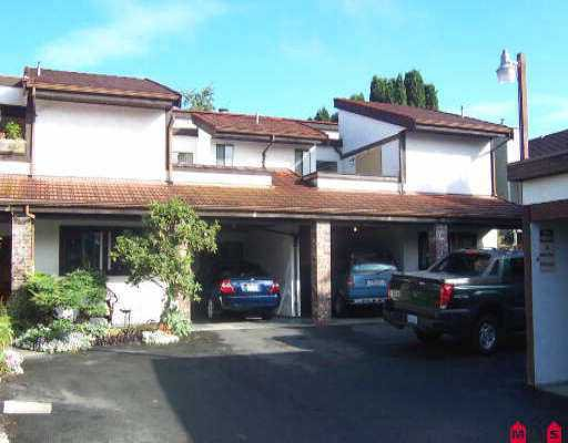 "Main Photo: 5 33903 MARSHALL RD in Abbotsford: Central Abbotsford Townhouse for sale in ""Marshall Villa"" : MLS®# F2522326"