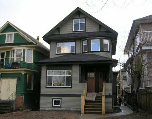 Main Photo: 724 E 10TH Ave in Vancouver: Mount Pleasant VE House 1/2 Duplex for sale (Vancouver East)  : MLS®# V620852