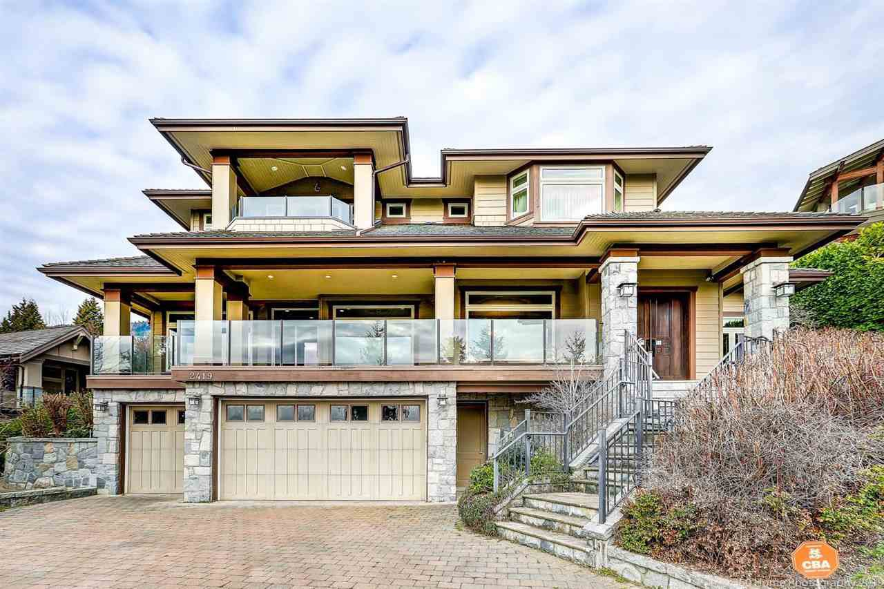 Main Photo: 2419 CHAIRLIFT Road in West Vancouver: Chelsea Park House for sale : MLS®# R2440155