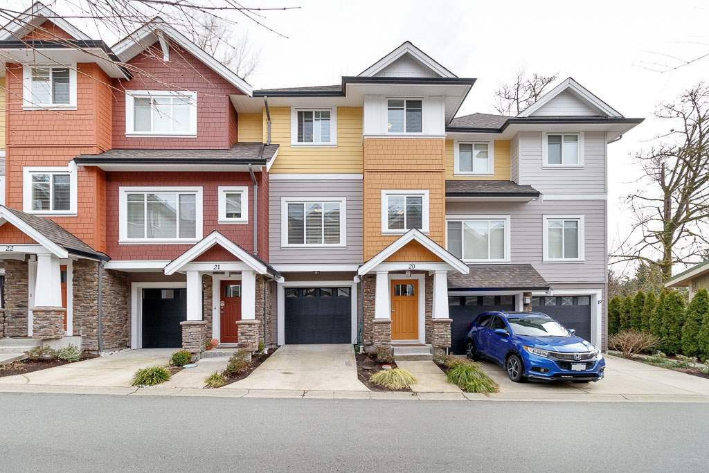 "Main Photo: 20 1219 BURKE MOUNTAIN Street in Coquitlam: Burke Mountain Townhouse for sale in ""EPS1759"" : MLS®# R2447299"