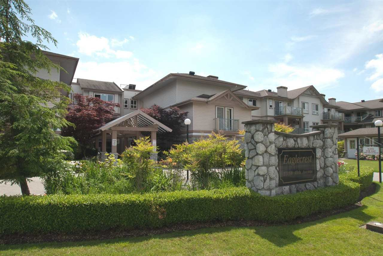 Main Photo: 316 22150 48 AVENUE in : Murrayville Condo for sale : MLS®# R2044194