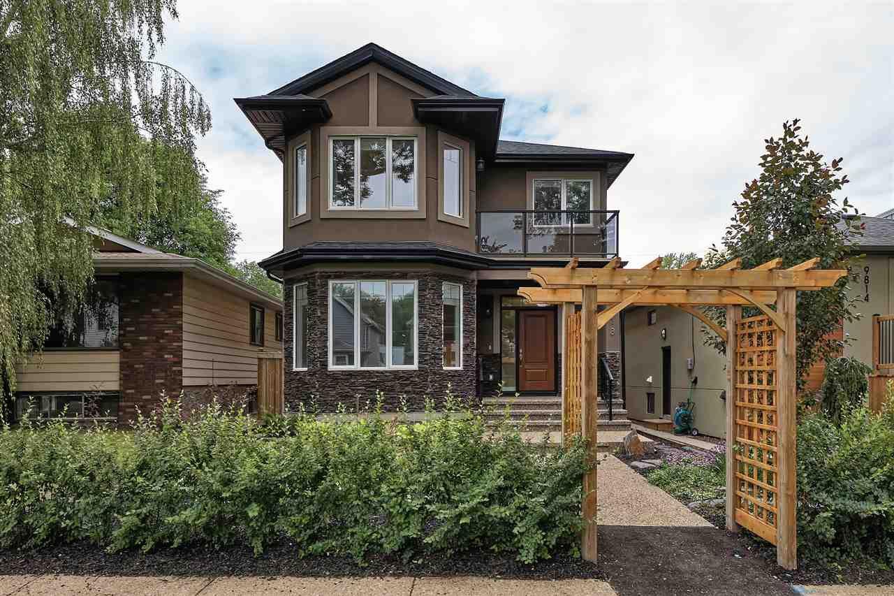 Main Photo: 9818 88 Avenue in Edmonton: Zone 15 House for sale : MLS®# E4204521