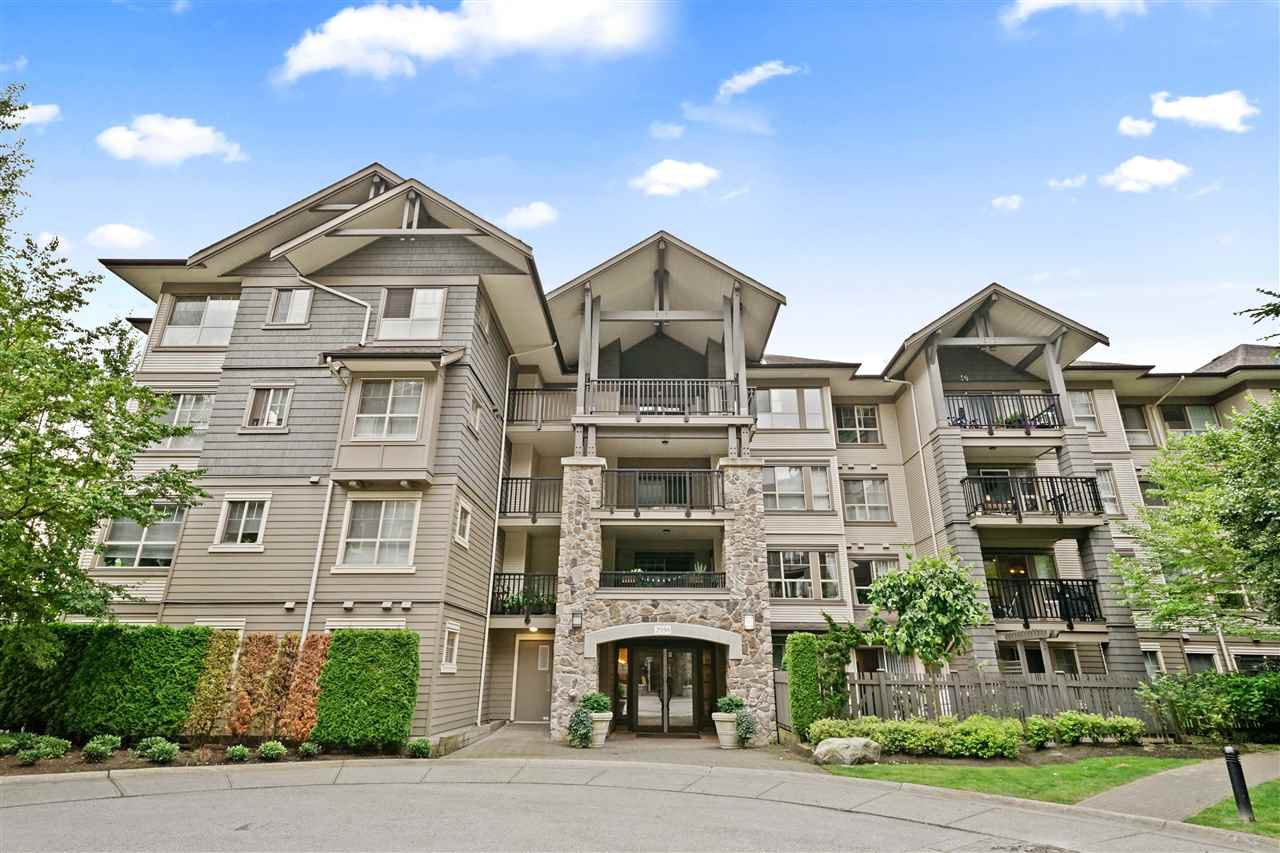 """Main Photo: 308 2958 WHISPER Way in Coquitlam: Westwood Plateau Condo for sale in """"SUMMERLIN"""" : MLS®# R2479798"""