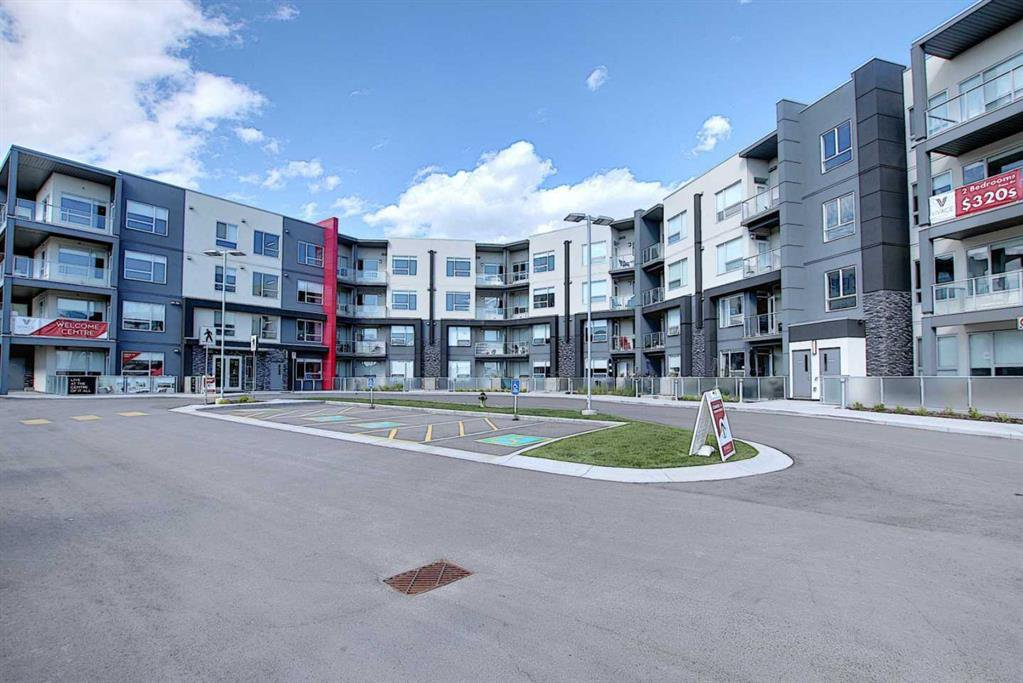 Main Photo: 325 8530 8A Avenue SW in Calgary: West Springs Apartment for sale : MLS®# A1012823