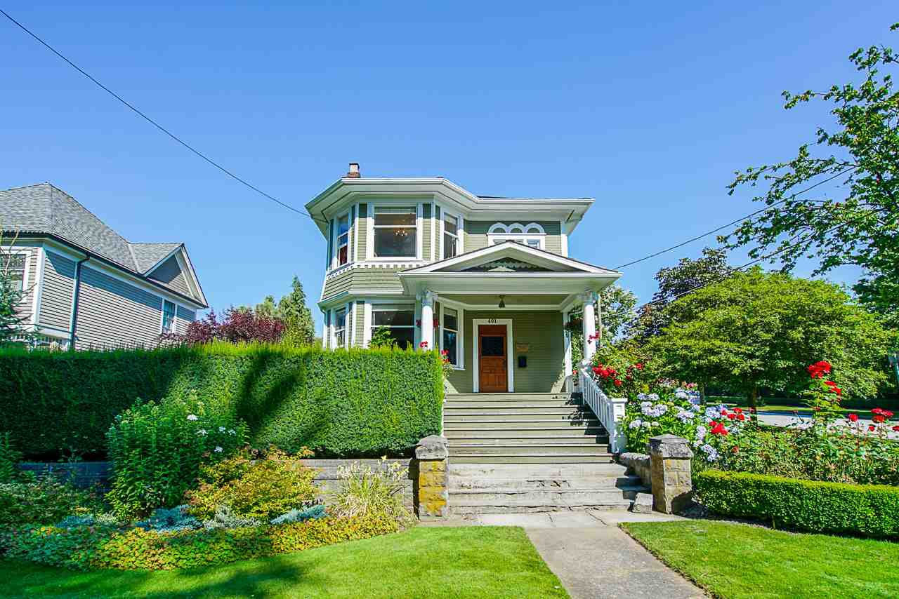 Main Photo: 401 QUEENS Avenue in New Westminster: Queens Park House for sale : MLS®# R2487780