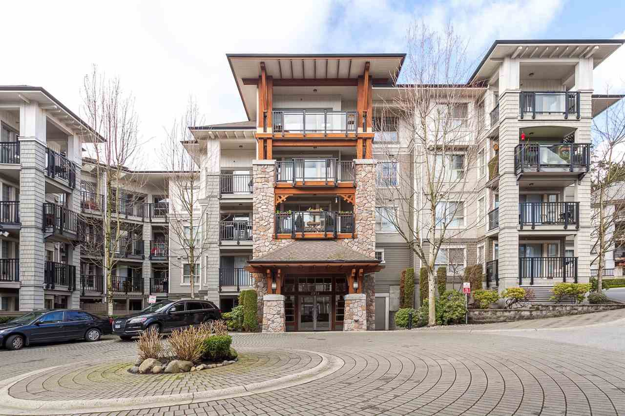 "Main Photo: 405 2958 SILVER SPRINGS Boulevard in Coquitlam: Westwood Plateau Condo for sale in ""TAMARISK"" : MLS®# R2442052"
