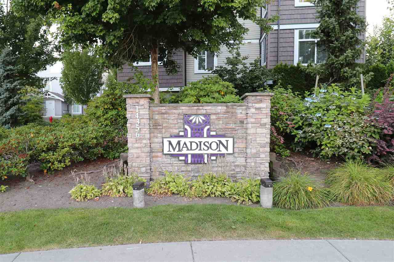 """Main Photo: 46 14356 63A Avenue in Surrey: Sullivan Station Townhouse for sale in """"MADISON"""" : MLS®# R2481171"""