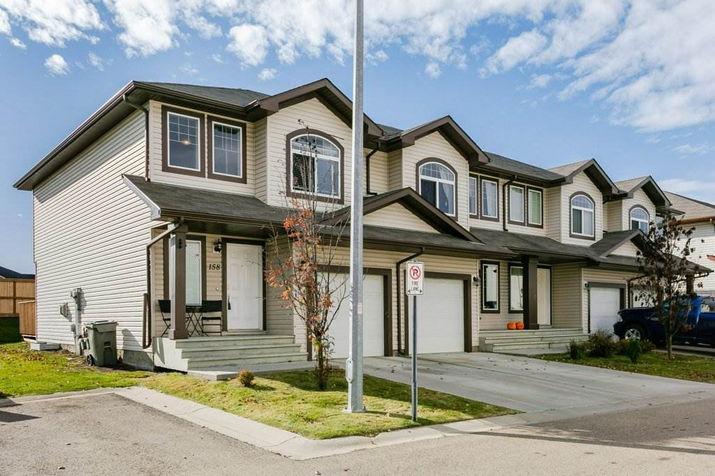 Main Photo: 158 101 DEER VALLEY Drive: Leduc Townhouse for sale : MLS®# E4178331