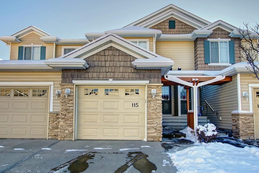 Main Photo: 115 ROYAL BIRCH MT NW in Calgary: Royal Oak Row/Townhouse for sale : MLS®# C4276537