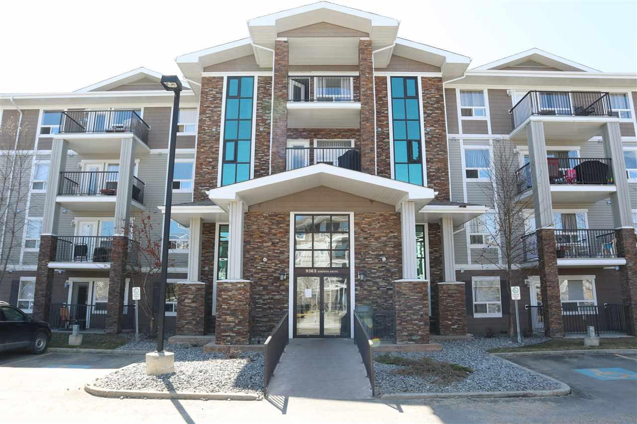 Main Photo: 1216 9363 SIMPSON Drive in Edmonton: Zone 14 Condo for sale : MLS®# E4195784
