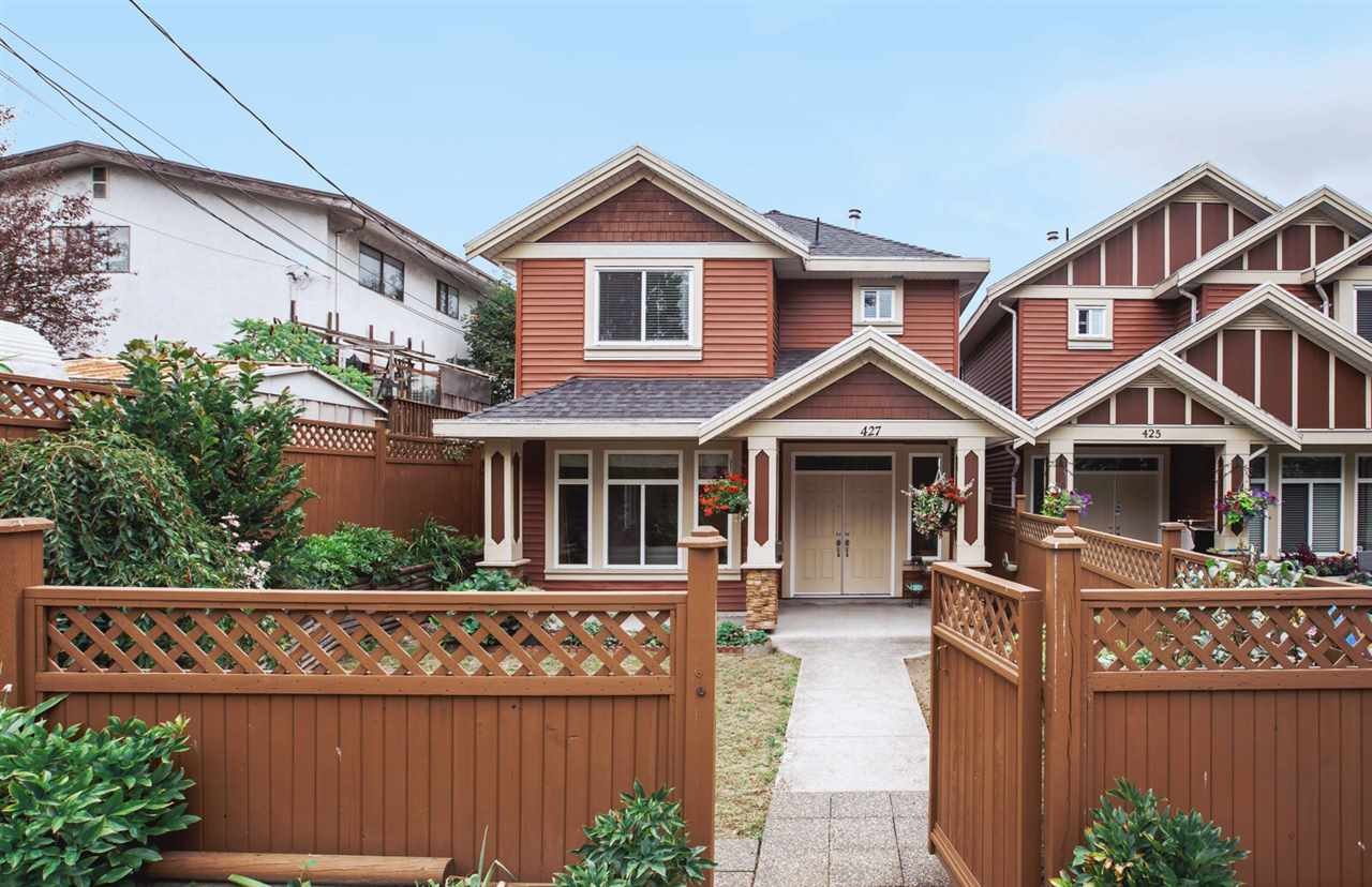 Main Photo: 427 NELSON STREET in : Central Coquitlam House 1/2 Duplex for sale : MLS®# R2421557