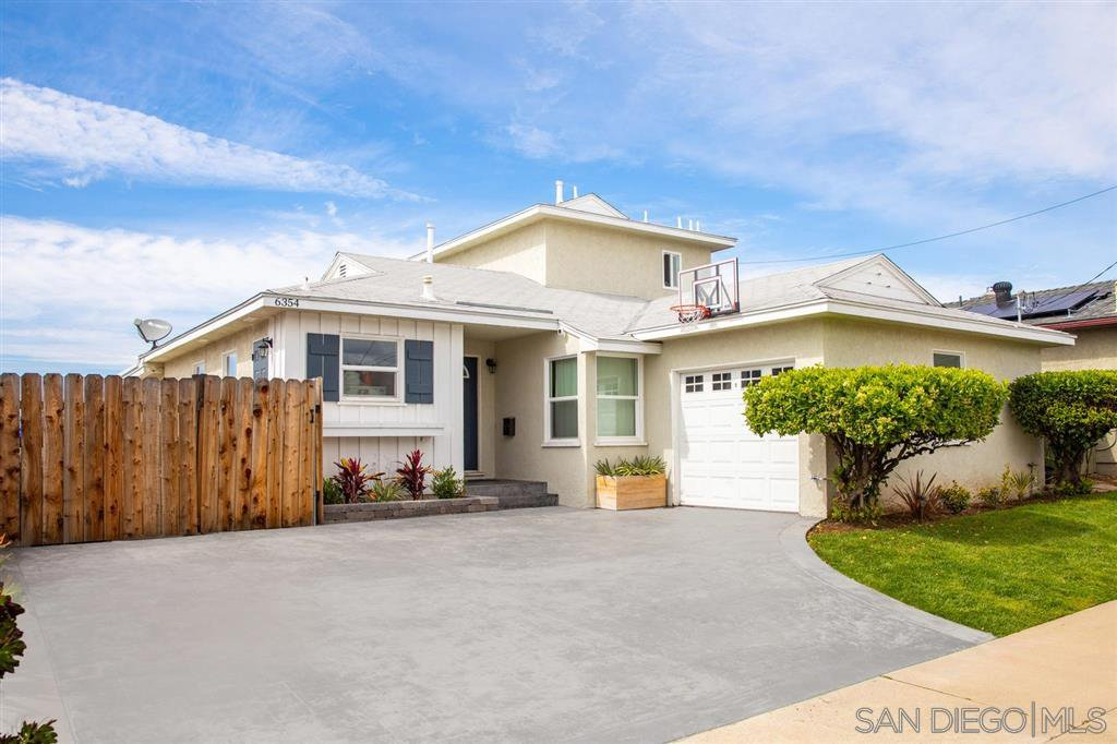 Main Photo: SAN DIEGO House for sale : 4 bedrooms : 6354 Estrella Ave