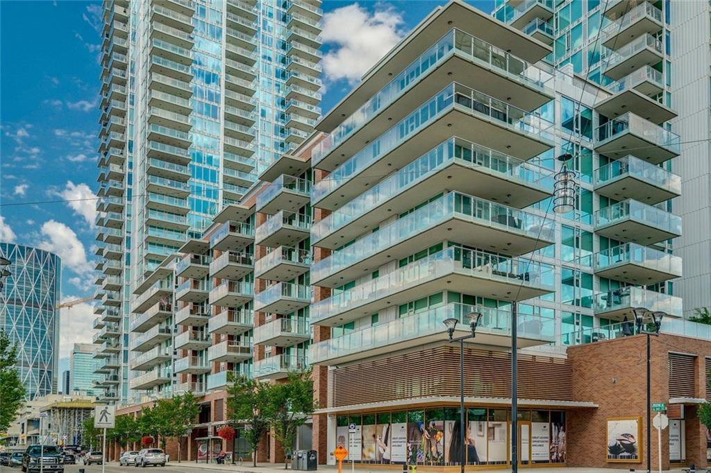 Main Photo: 507 560 6 Avenue SE in Calgary: Downtown East Village Apartment for sale : MLS®# C4300448
