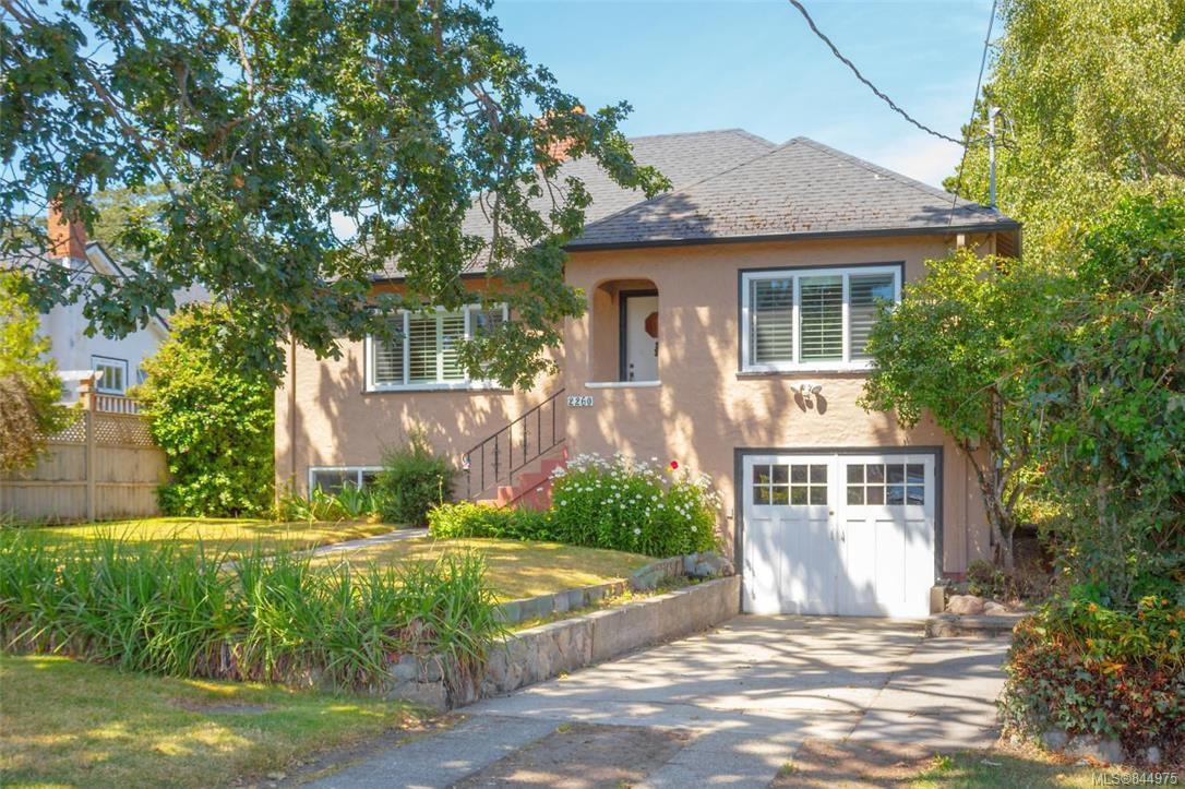 Main Photo: 2260 Central Ave in Oak Bay: OB South Oak Bay Single Family Detached for sale : MLS®# 844975