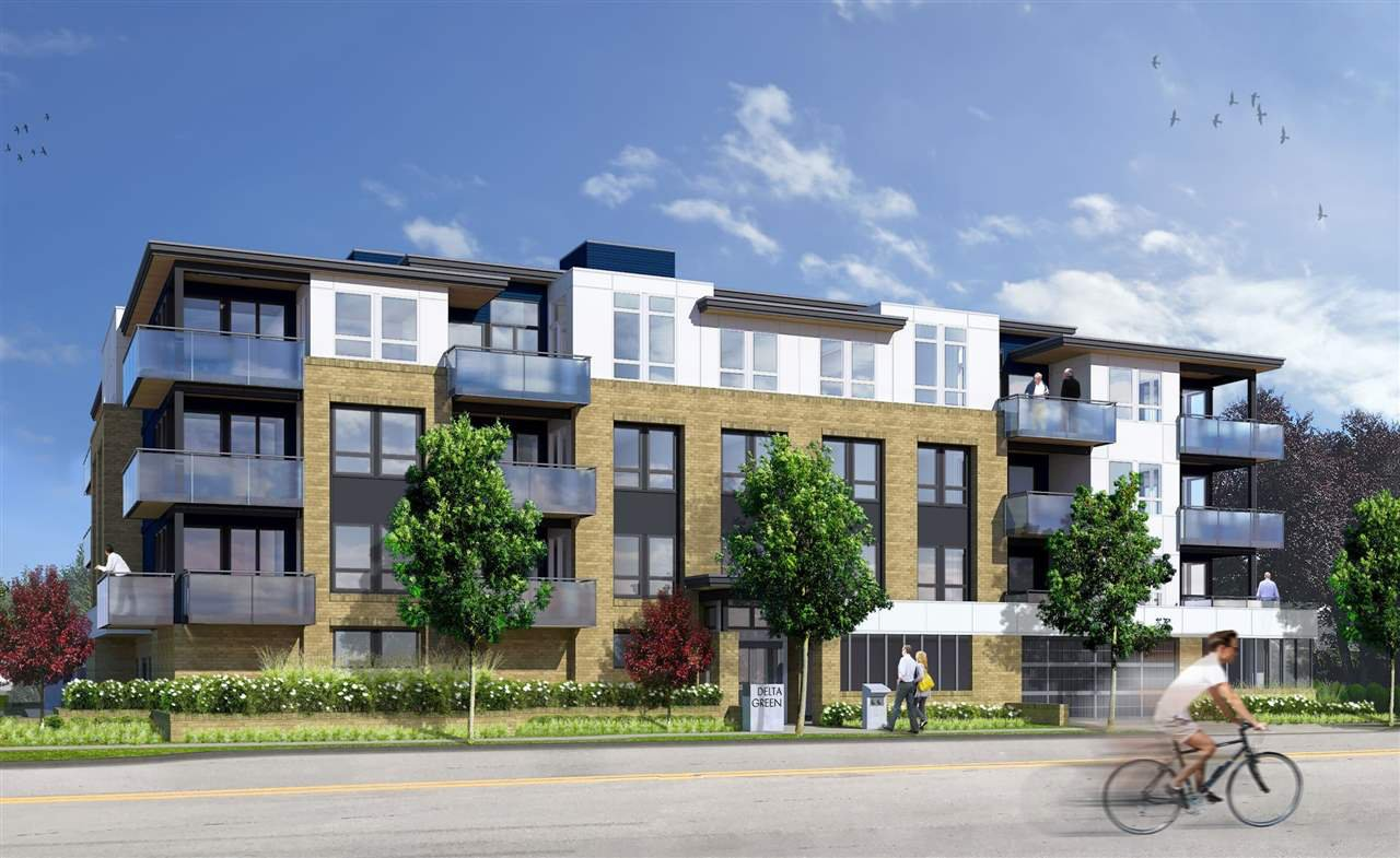 "Main Photo: 202 4674 - 4684 51 Street in Delta: Ladner Elementary Condo for sale in ""DELTA GREEN"" (Ladner)  : MLS®# R2520516"