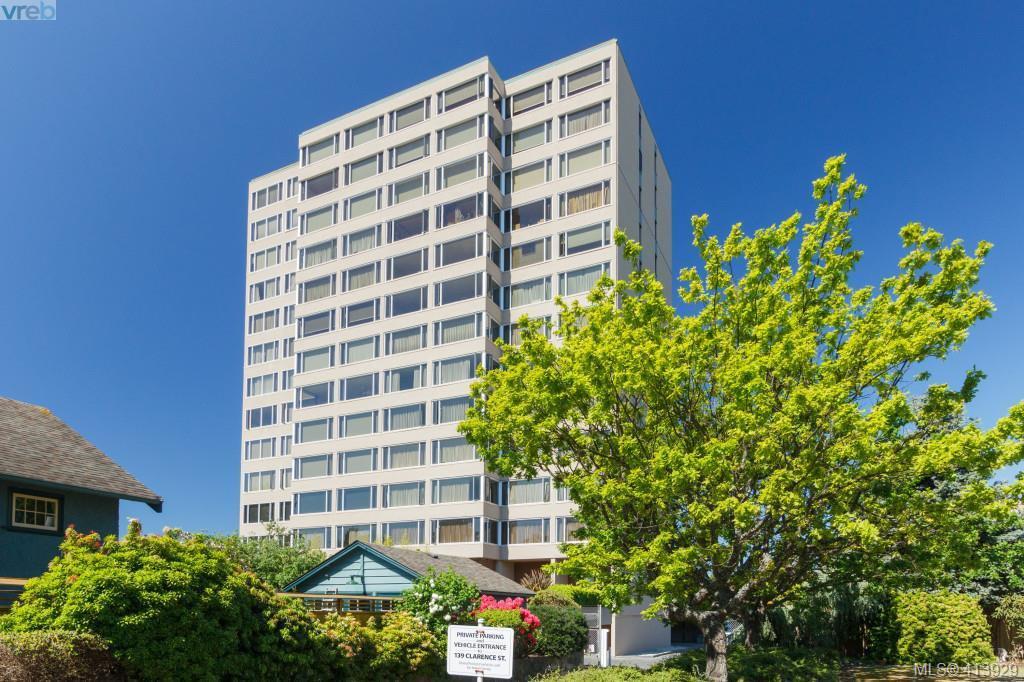 Main Photo: 1004 139 Clarence Street in VICTORIA: Vi James Bay Condo Apartment for sale (Victoria)  : MLS®# 413929