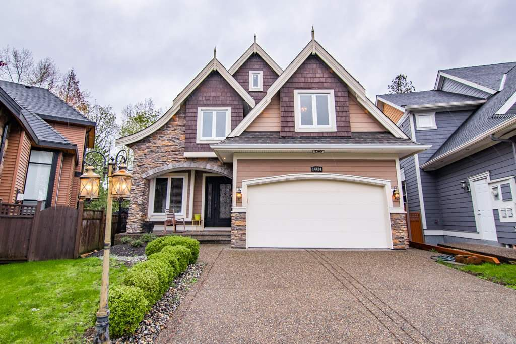 Main Photo: 14491 59A AVENUE in Surrey: Sullivan Station House for sale : MLS®# R2359380