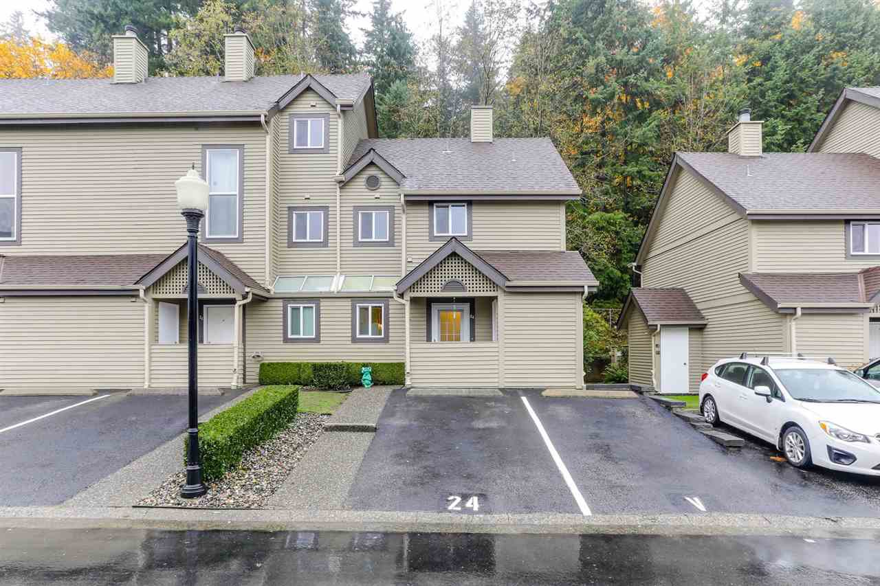 Main Photo: 24 2736 ATLIN Place in Coquitlam: Coquitlam East Townhouse for sale : MLS®# R2414933