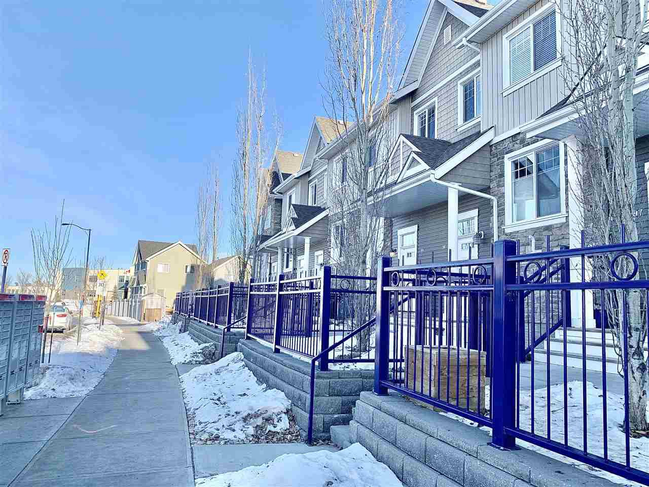 Main Photo: 99 4050 SAVARYN Drive in Edmonton: Zone 53 Townhouse for sale : MLS®# E4224803