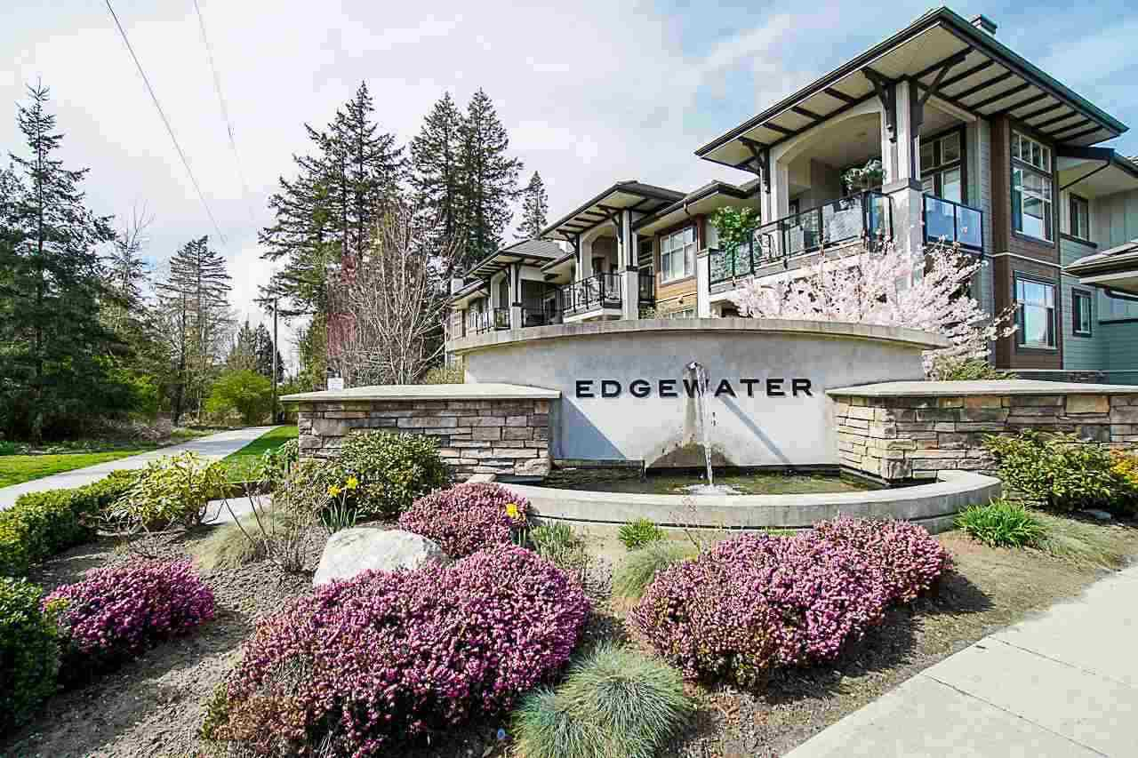 "Main Photo: 302 15195 36 Avenue in Surrey: Morgan Creek Condo for sale in ""EDGEWATER"" (South Surrey White Rock)  : MLS®# R2417496"