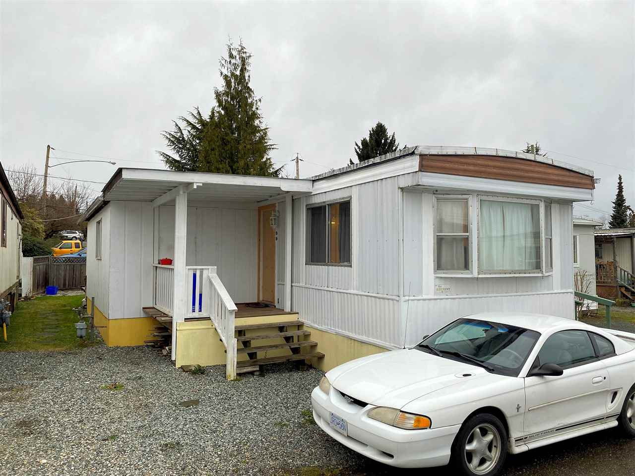 Main Photo: 17B 26892 FRASER Highway in Langley: Aldergrove Langley Manufactured Home for sale : MLS®# R2425460