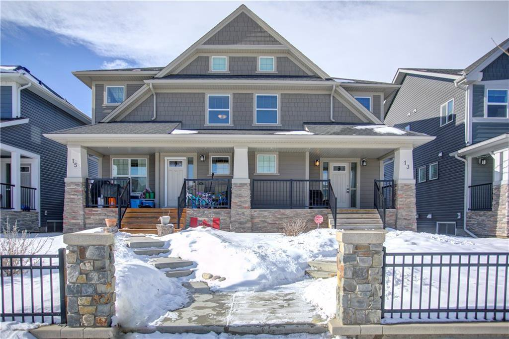 Main Photo: 13 LEGACY Gate SE in Calgary: Legacy Semi Detached for sale : MLS®# C4286709