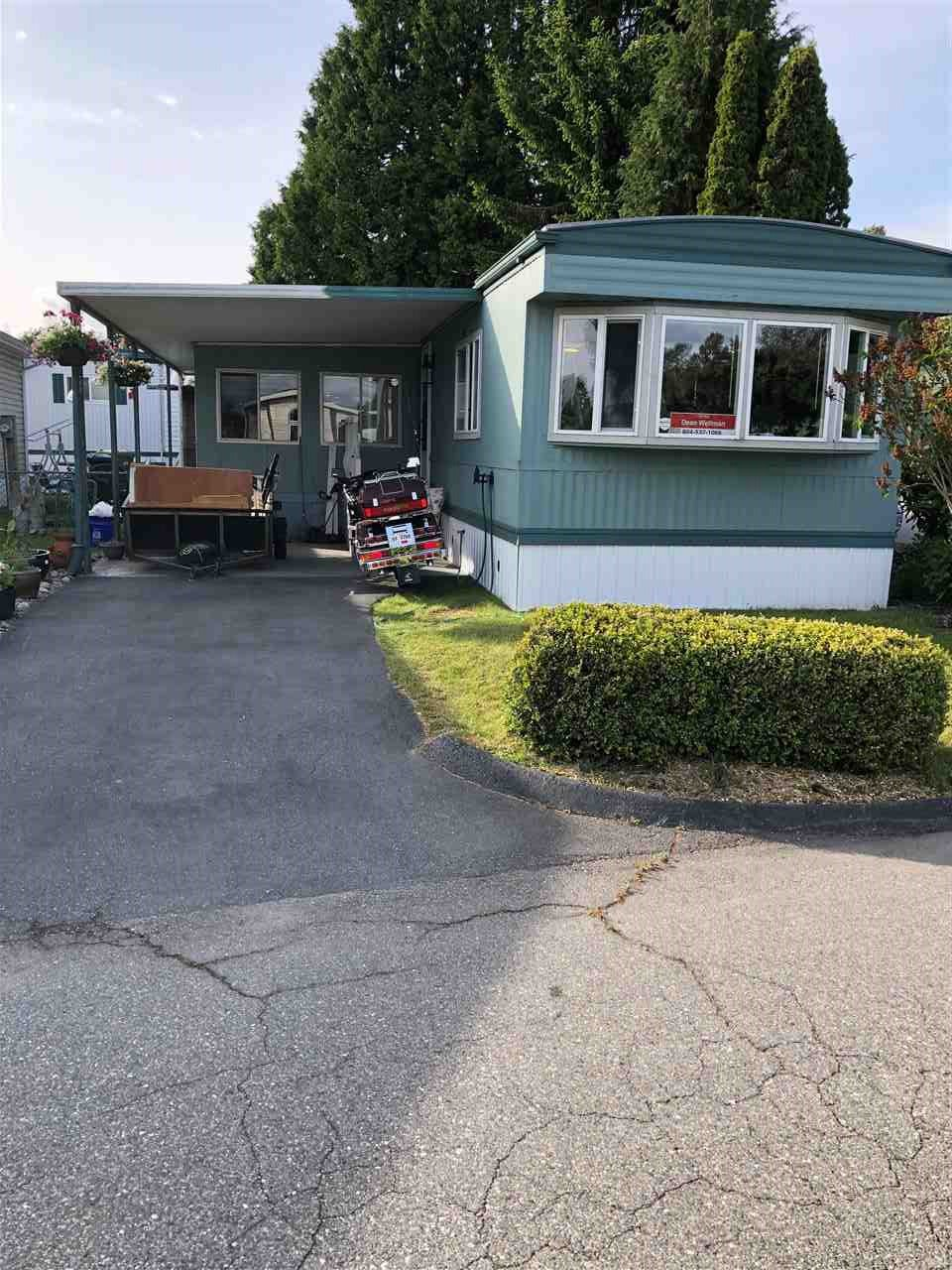 Main Photo: 183 1840 160 Street in Surrey: King George Corridor Manufactured Home for sale (South Surrey White Rock)  : MLS®# R2463044