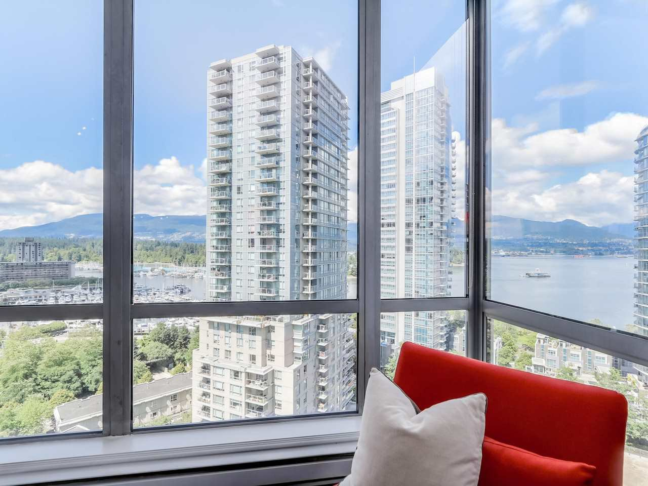 Main Photo: 1401 1228 W HASTINGS STREET in : Coal Harbour Condo for sale : MLS®# R2103469