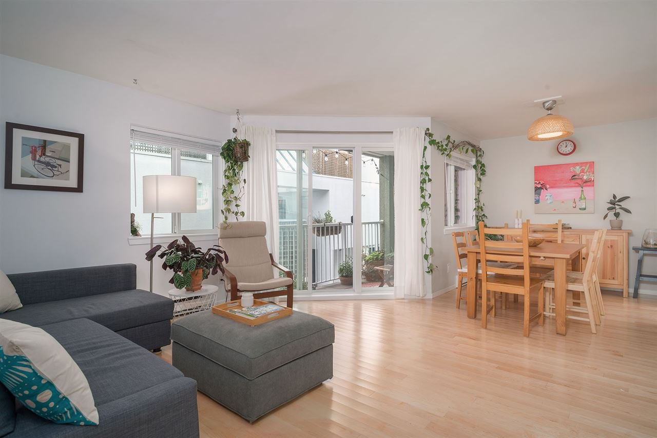 Main Photo: 103 1045 W 8TH Avenue in Vancouver: Fairview VW Condo for sale (Vancouver West)  : MLS®# R2404739