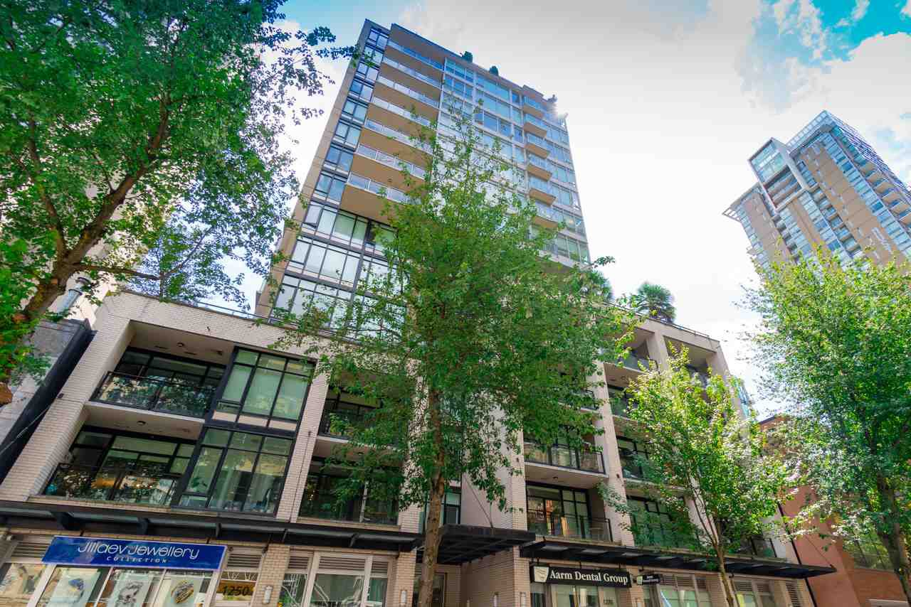 """Main Photo: 203 1252 HORNBY Street in Vancouver: Downtown VW Condo for sale in """"PURE"""" (Vancouver West)  : MLS®# R2413688"""