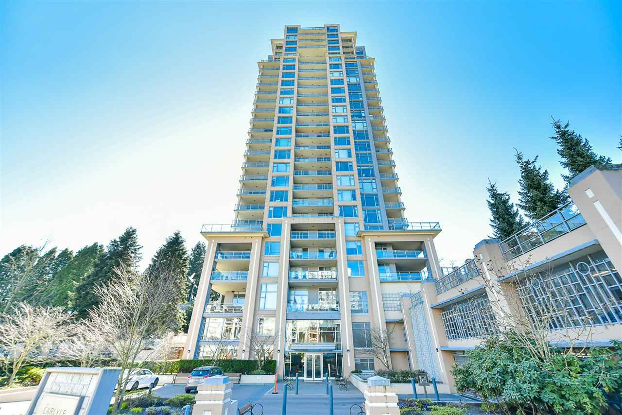 "Main Photo: 1207 280 ROSS Drive in New Westminster: Fraserview NW Condo for sale in ""Carlyle at Victoria Hill"" : MLS®# R2445288"