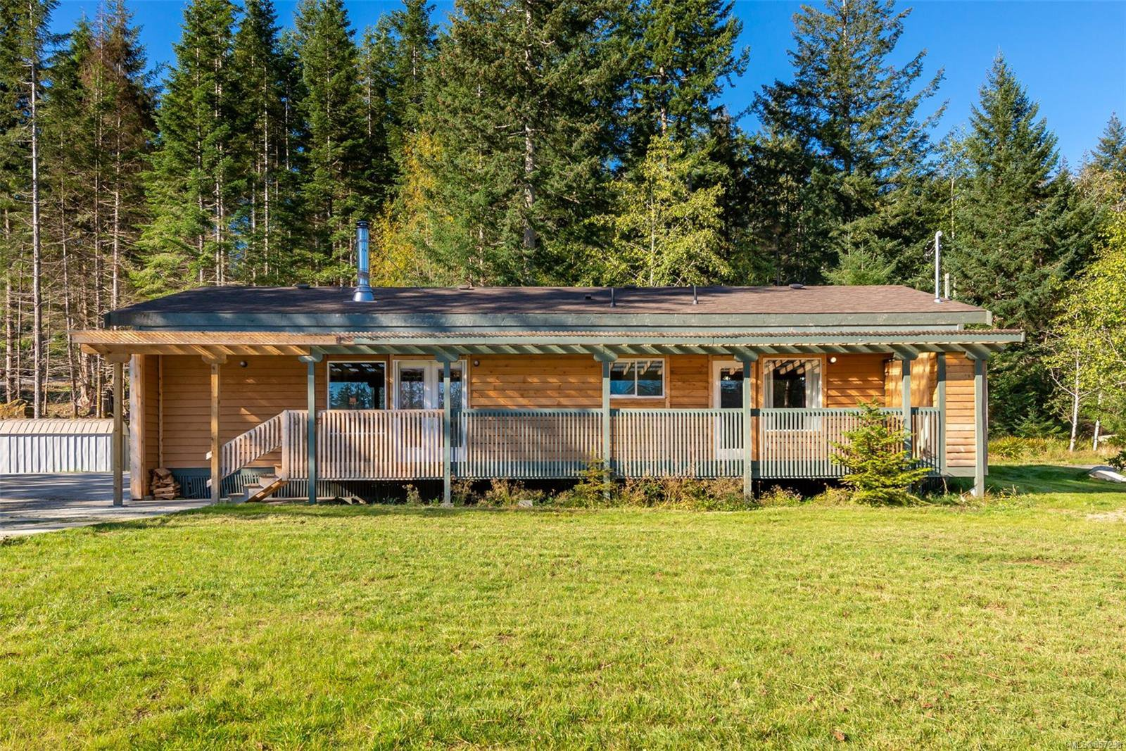 Main Photo: 1396 West Rd in : Isl Quadra Island House for sale (Islands)  : MLS®# 857238